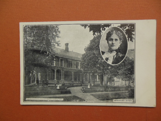 Image for Postcard President McKinley Home Canton, Ohio  Mrs. McKinley (1903 Unused)