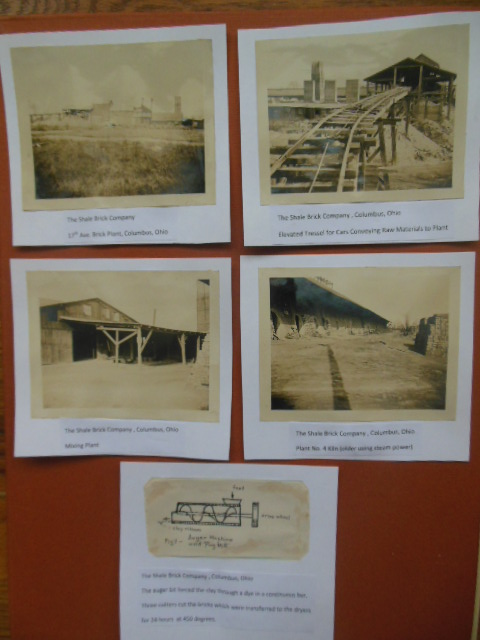 Image for Four Photographs, One Drawing, The Shale Brick Company, Columbus, Ohio