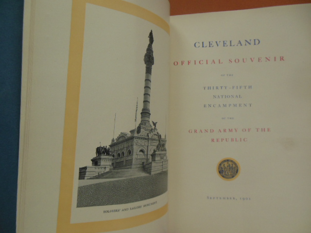 Image for Cleveland Official Souvenir of the Thirty-Fifth National Encampment of the Grand Army of the Republic 1911