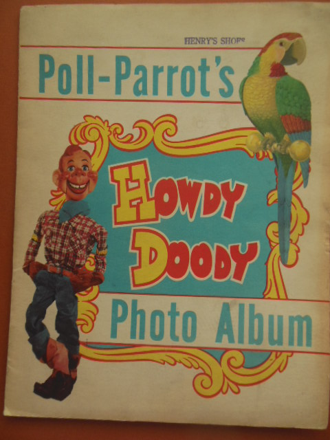 Image for Poll Parrot's Howdy Doody Photo Album (1950's)