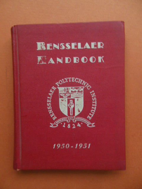 Image for Rensselaer Polytechnic Institute Handbook 1950-1951