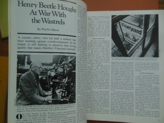 Image for Cape Cod Compass Magazine 1974 (Henry Beetle Hough, Cranberry Industry)