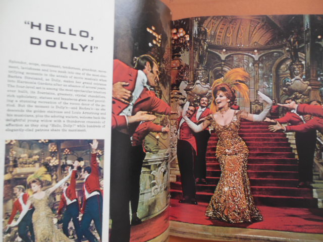 Image for Hello Dolly Movie Souvenir (Barbra Streisand, Walter Mathau 1969)