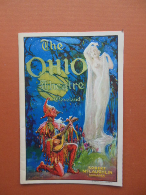 Image for Ohio Theatre Program 1928 (Lynn Fontanne, Alfred Lunt)