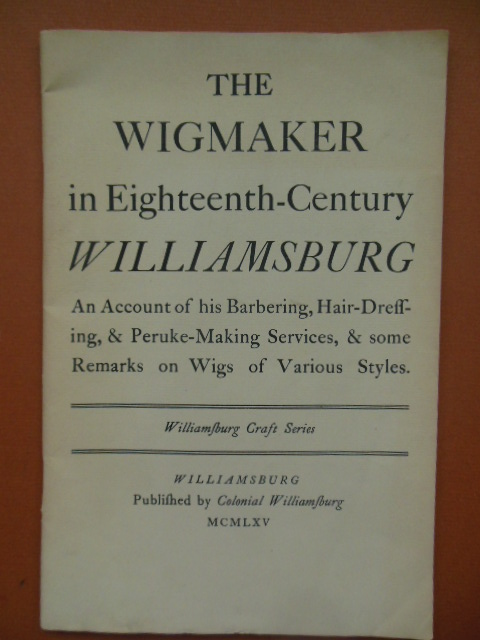 Image for The Wigmaker in Eighteenth-Century Williamsburg