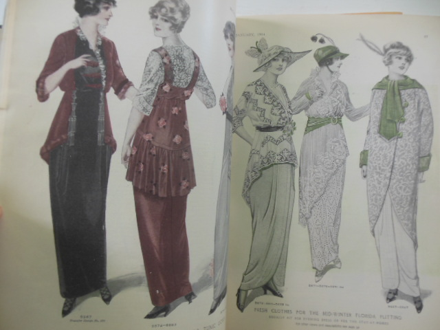Image for McCall's Magazine January 1914 (Fashion Plates)