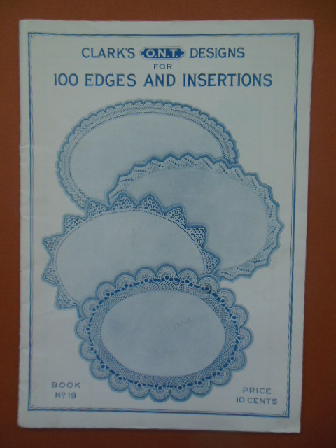 Image for Clark's Designs for 100 Edges and Insertions 1923