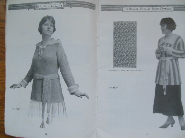 Image for Bucilla Ball Yarn Blue Book of Yarnkraft 1917 (Knitting & Crocheting)