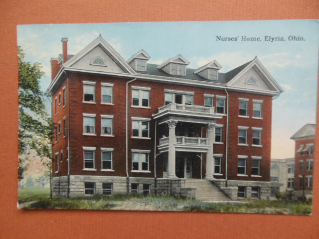 Image for Postcard Nurses' Home Elyria, Ohio 1914