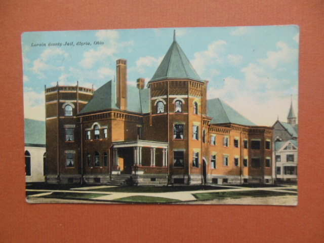Image for Lorain County Jail, Elyria, Ohio Postcard