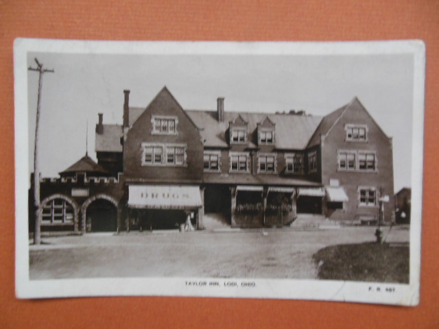 Image for Real Photo Postcard Taylor Inn Lodi, Ohio 1910