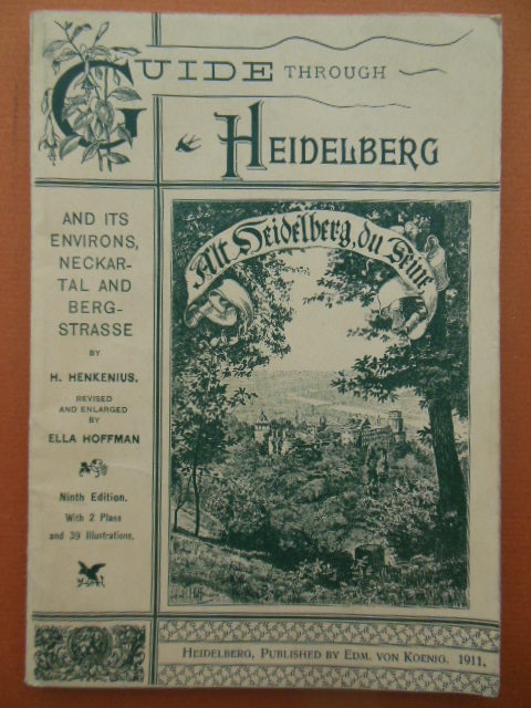 Image for Guide through Heidelberg And Its Environs 1911