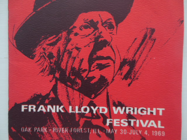 Image for Program Frank Lloyd Wright Festival May 30-July 4, 1969 (Illinois)