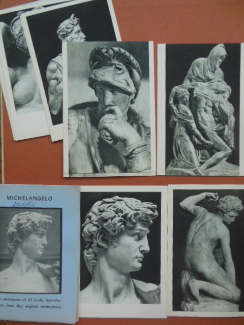 Image for Michelangelo An Assortment of 12 Postcards from the Original Masterpieces