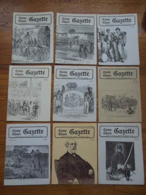 Image for Camp Chase Gazette; The Magazine For Civil War Reenactors (9 Issues 1985)