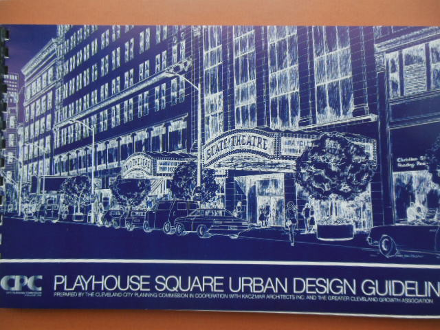 Image for Playhouse Square Urban Design Guidelines (Cleveland, Ohio 1985)
