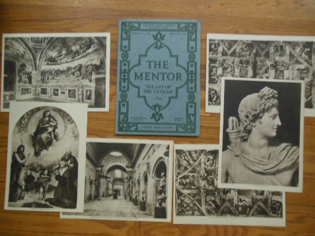 Image for The Mentor Magazine: The Art of the Vatican (1920 Six Gravures Laid-in)