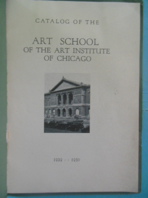 Image for Catalog of the Art School of the Art Institute of Chicago 1929-1930