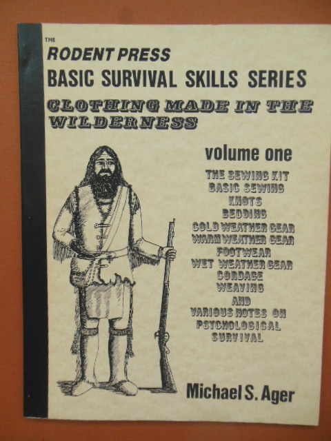 Image for Clothing Made in the Wilderness Vol. One (Rodent Press Basic Survival Skills 1981)