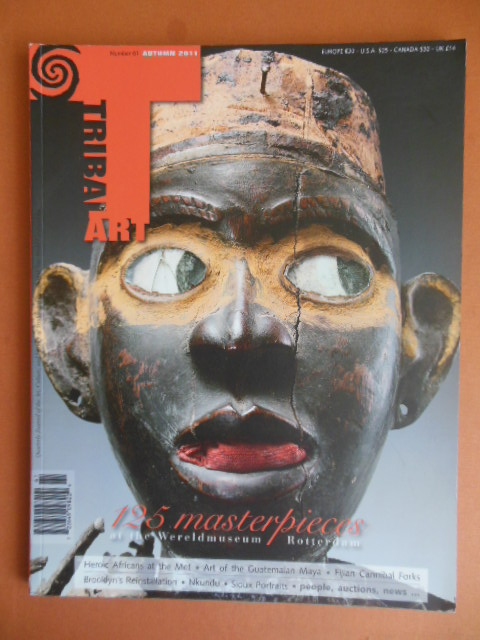 Image for Tribal Art Magazine Autumn 2011