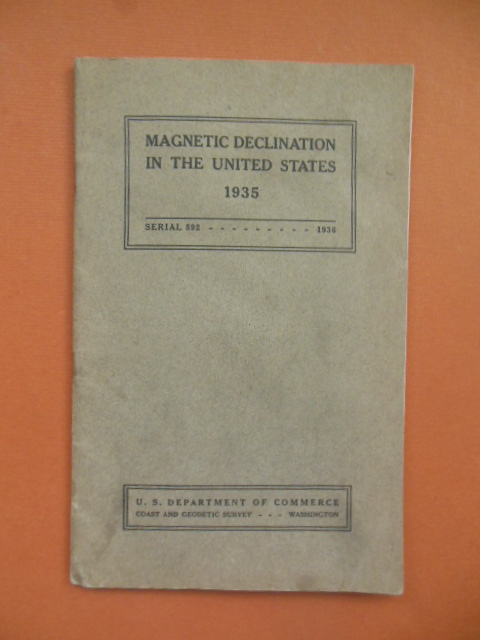 Image for Magnetic Declination in the United States 1935