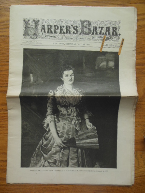 Image for Harper's Bazar Magazine Saturday, May 26, 1888