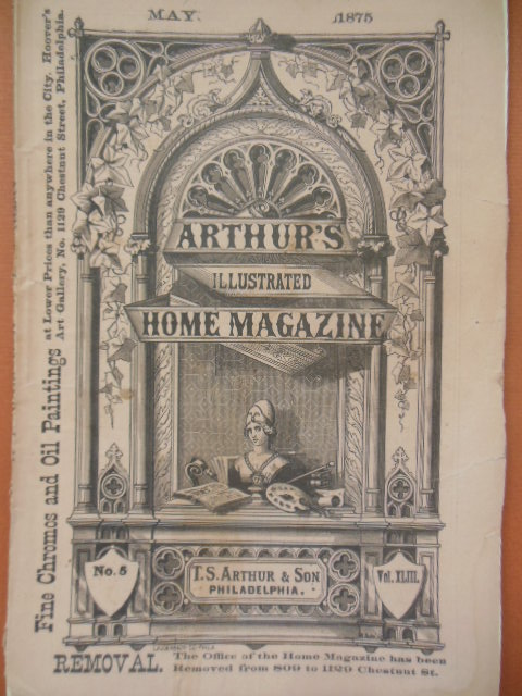 Image for Arthur's Illustrated  Home Magazine (May, 1875)
