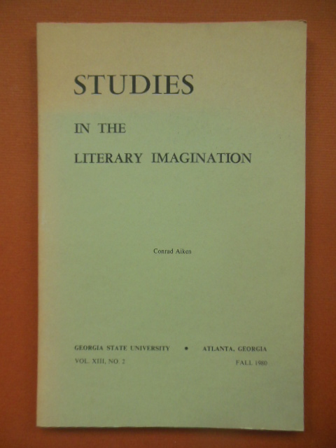 Image for Studies in the Literary Imagination; Conrad Aiken (Fall 1980)