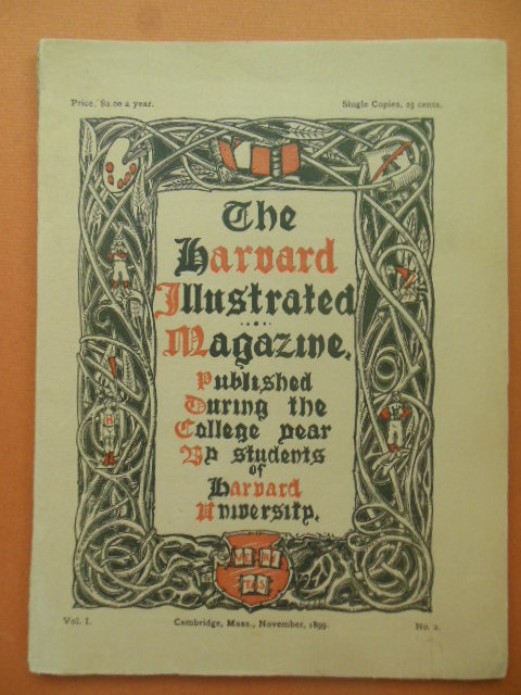 Image for The Harvard Illustrated Magazine Vol. I No. 2 (1899)