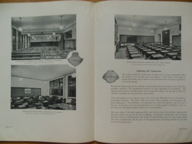 Image for The Lighting of Schools; A Guide to Good Practice (Includes Two Additional Items) 1927