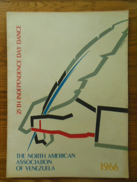 Image for 25th Independence Day Dance North American Association of Venezuela 1966 (program)