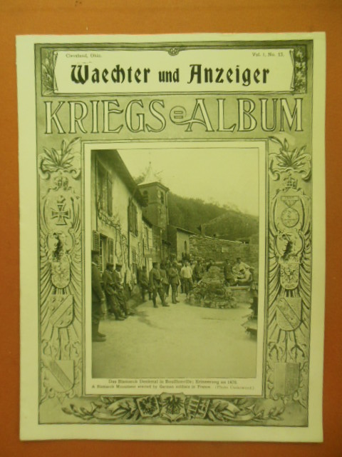 Image for Waechter und Anzeiger Kriegs Album WWI(Captions in English) Vol. 1 No. 13, 1915