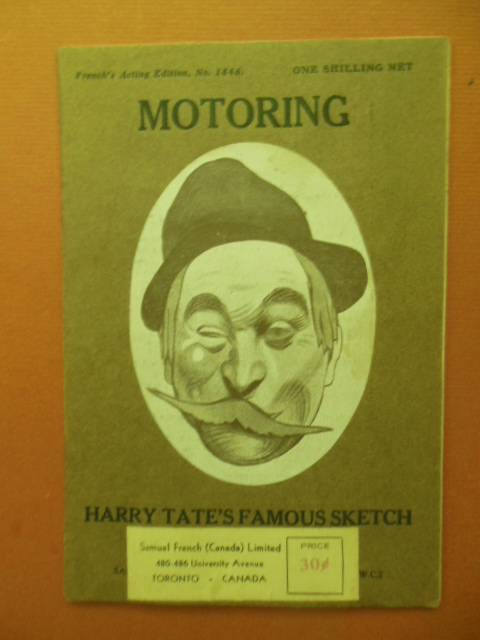 Image for Motoring, A Farce - Harry Tate's Famous Sketch (Canadiana)