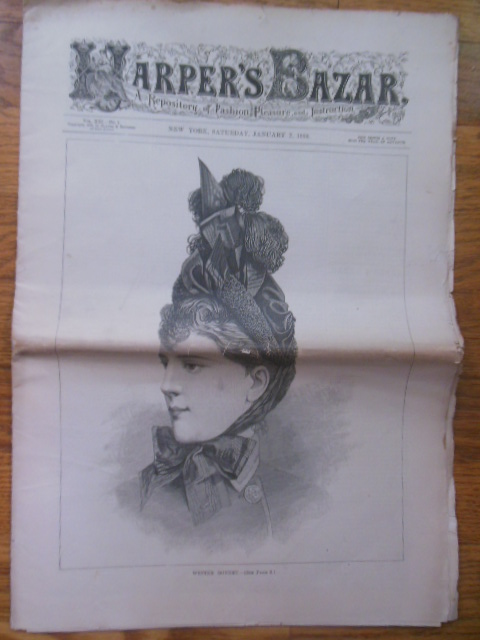 Image for Harper's Bazar January 7, 1888