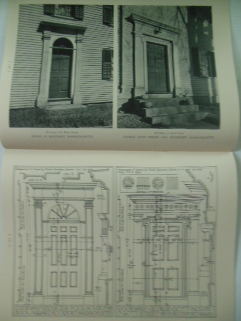 Image for The Later Dwelling Architecture of Cape Ann -- Parts One and Two; The Monograph Series (circa 1930's)