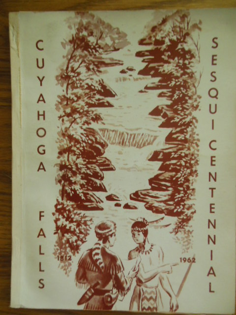 Image for Cuyahoga Falls Sesquicentennial Cloth Banner and Sesquicentennial Program (Ohio, 1962)