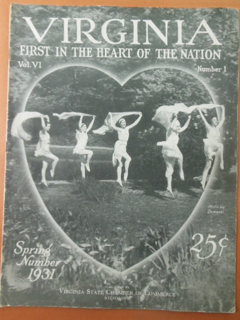 Image for Virginia First in the Heart of the Nation Magazine 1931