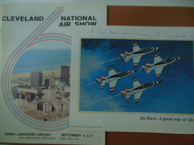 Image for Cleveland National Air Show Program 1977 (Air Force Picture Laid-in)