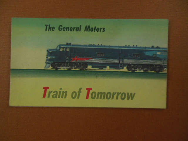 Image for The General Motors Train of Tomorrow (Advertising Brochure 1947)