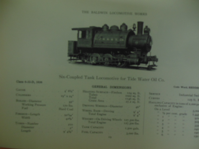Image for The Baldwin Locomotive Works; Locomotives for Industrial and Contractors' Service