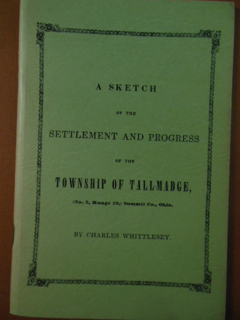 Image for A Sketch of the Settlement and Progress of the Township of Tallmadge (Ohio)