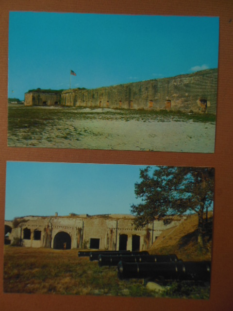 Image for Two color Postcards Historic Fort Pickens