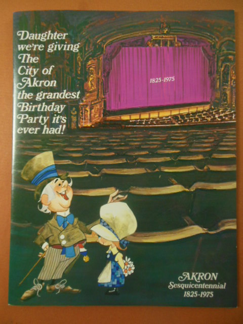 Image for Sesquicentennial Program Akron, Ohio 1825-1975