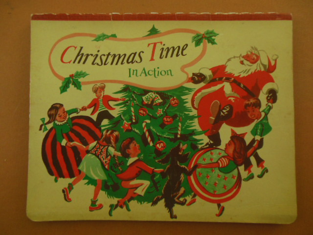 Image for Christmas Time In Action (pop-up 1949)