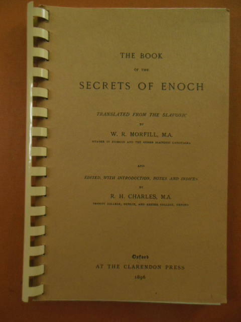 Image for The Book of the Secrets of Enoch (1964 reprint)