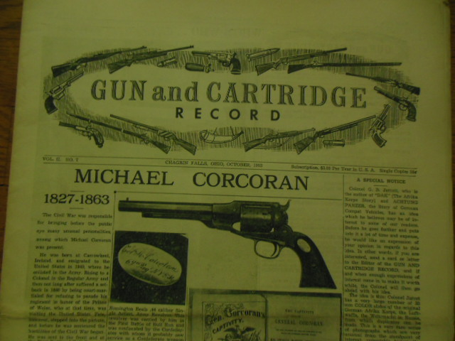 Image for Gun and Cartridge Record October, 1953