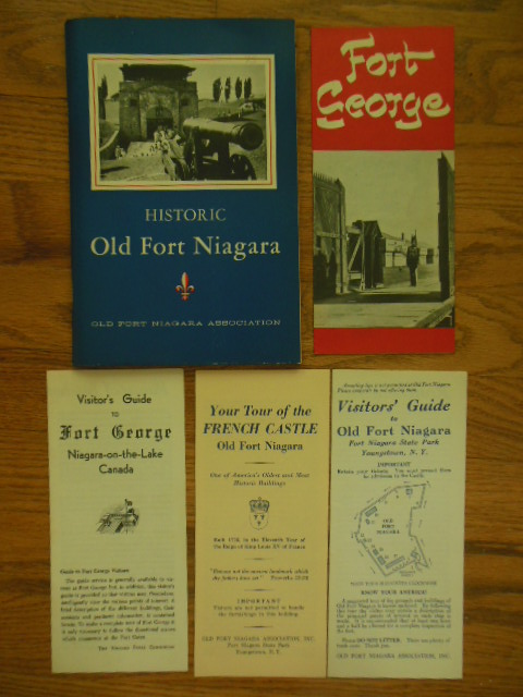 Image for Historic Old Fort Niagara; The Story of an Ancient Gateway to the West (with map and four brochures) 1939