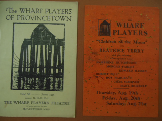 Image for The Wharf Players of Provincetown Program, 1926 Beatrice Terry Insert