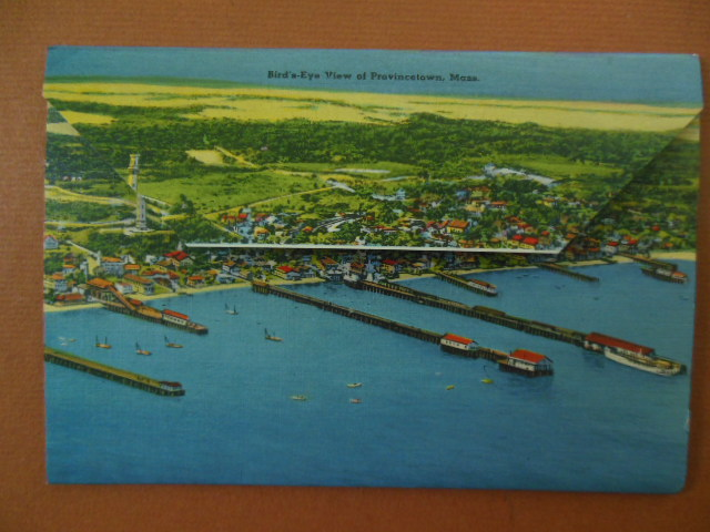 Image for Souvenir of Provincetown Cape Cod, Mass. (1950's)