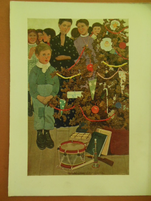 Image for Christmas Print by Ethel Franklin Botts 1906